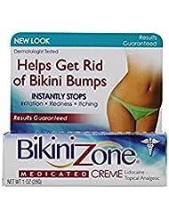Bikini Zone ビキニエリア1オンスのための薬用クリーム