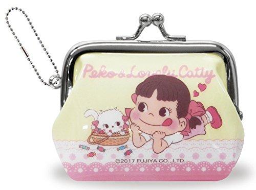 ペコちゃん 財布 がま口 イエロー RM-4999