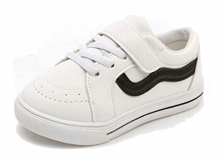 [ディアアンナ] こども用 スニーカー キッズシューズ 13.5~18㎝ 一人でさっと 履きやすい 歩きやすい ブラック ホワイト ピンク