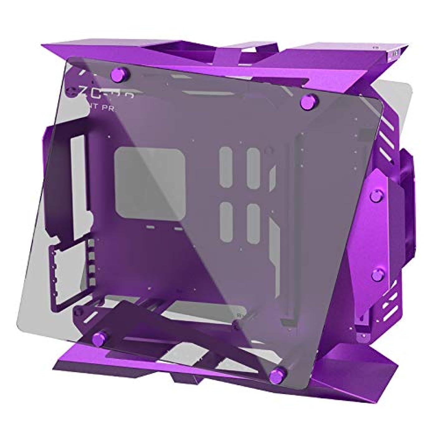 台無しに銛感覚EスポーツブティックスモールシャーシZC-22 DIY水冷MOD全アルミニウムデスクトップゲームコンピューター