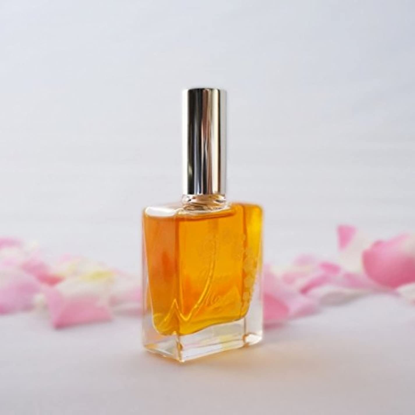 誰でもせせらぎれんが本物のバラの香水 天然香料100% 合成香料無添加 ダマスクローズ (オードトワレ 30ml)
