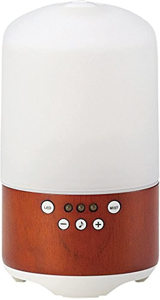 粘土アレンジ気性ラドンナ スピーカー&アロマディフューザー tomori ADF11-TMR ブラウン