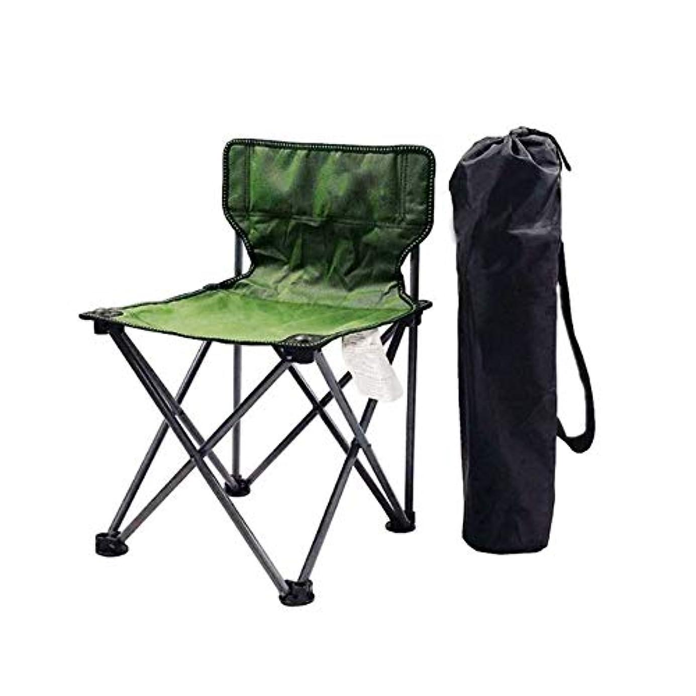 主流打ち負かすダーベビルのテスアウトドア折りたたみ椅子 折りたたみ通気性メッシュアルミキャンプ釣りガーデンチェアポータブルディレクターズチェア (色 : 緑)