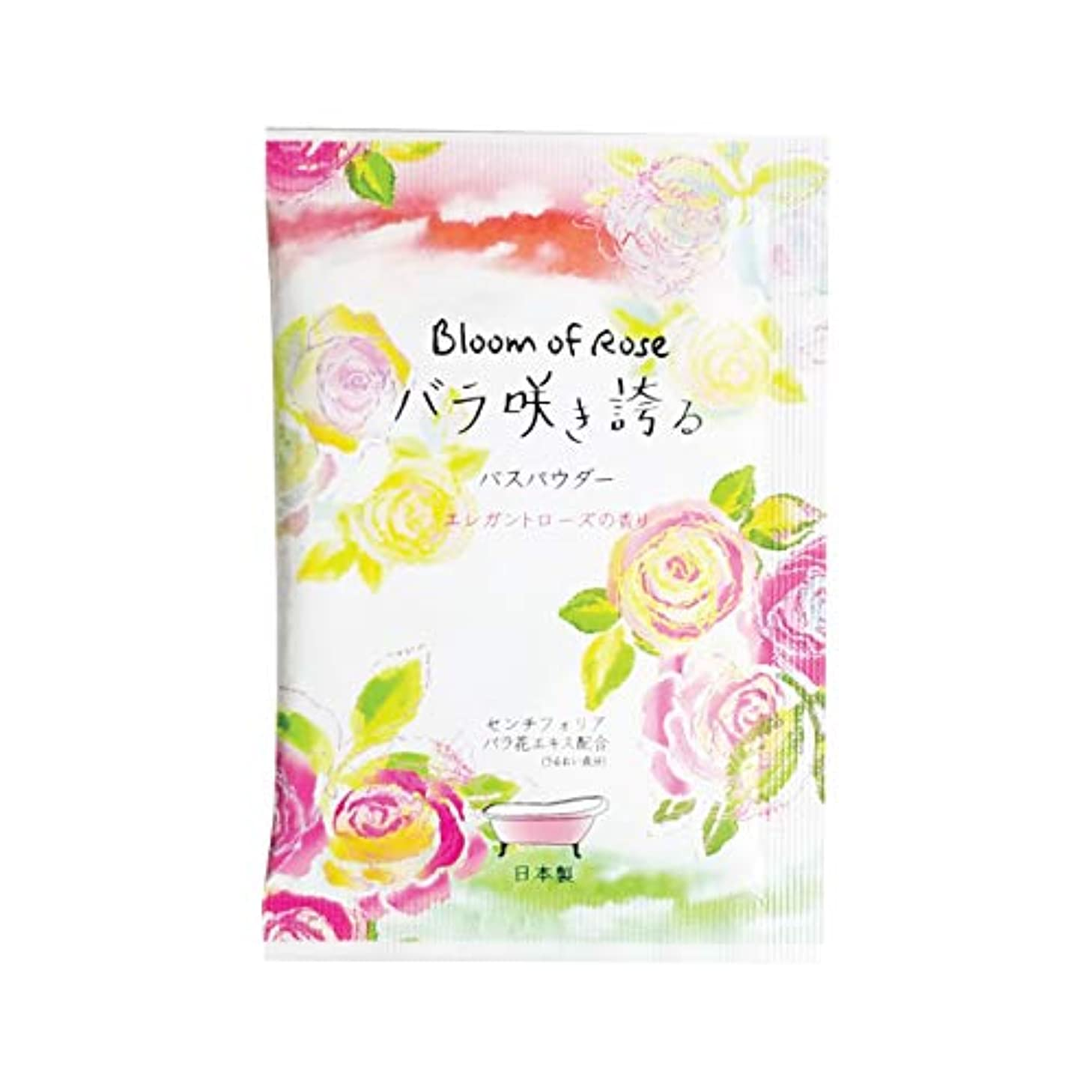 仕事に行く麻酔薬温度計Bloom of Rose バラ咲き誇る入浴剤 120個