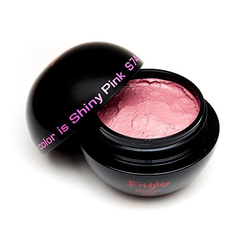 不良品大臣二十EMAJINY Shiny Pink S74(ピンクカラーワックス)ピンク30g【日本製】【無香料】