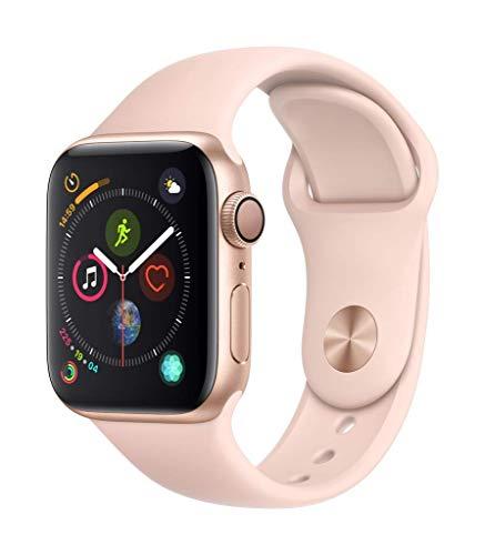 Apple Watch Series 4(GPSモデル)- 40mmゴールドアルミニウムケースとピンクサンドスポーツバンド
