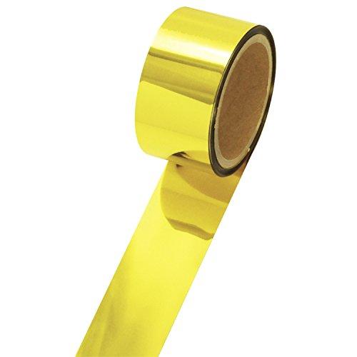 テープ 40-4453 メッキテープ 小巻タイプ 6個 金