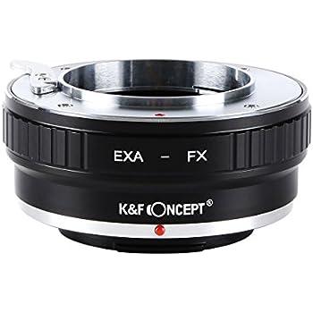 K&F Concept レンズマウントアダプター KF-EXAX (エキザクタマウントレンズ → 富士フィルムXマウント変換)
