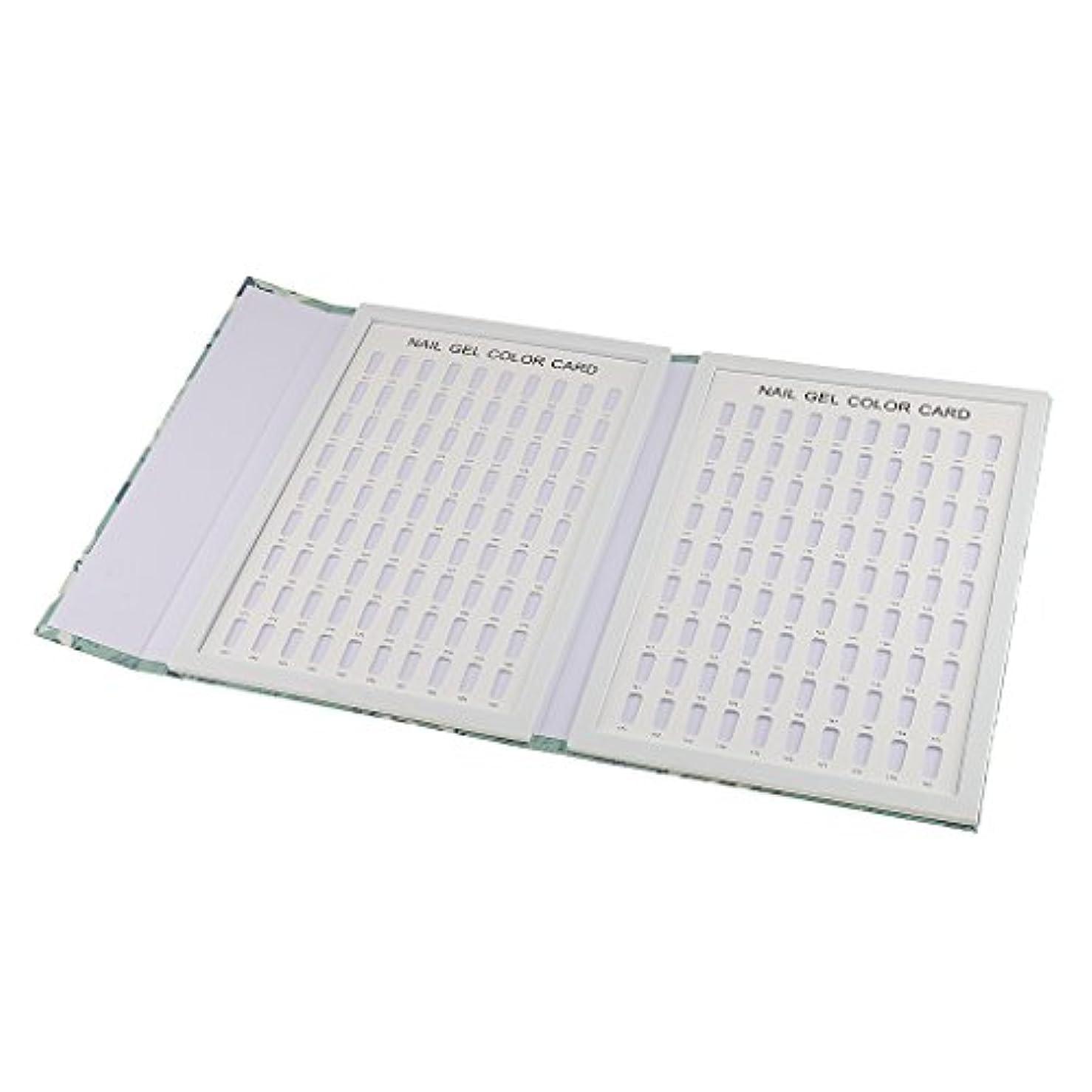小包脱獄囚人CUTICATE 爪ディスプレイブック ネイル ディスプレイブック カラーチャート 全3種 - 180色