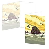 ECOeverywhere Hay Rockボックス版カードセット、12カードと封筒、4x 6インチ、マルチカラー( bc11873)