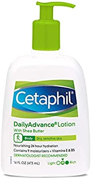 Cetaphil Daily Advance Ultra Hydrating Lotion, 473ml