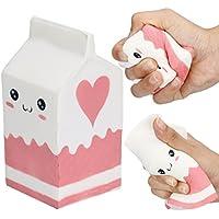 Hanyiファッション12 cm5.5 cmキュートソフトピンクヨーグルトボトルスーパーSlow Rising Kids Toy