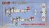 コラモデルス 1/72 オーストリア空軍&ドイツ空軍 フィアット CR.20B 複座練習連絡機 プラモデル KORPK72119