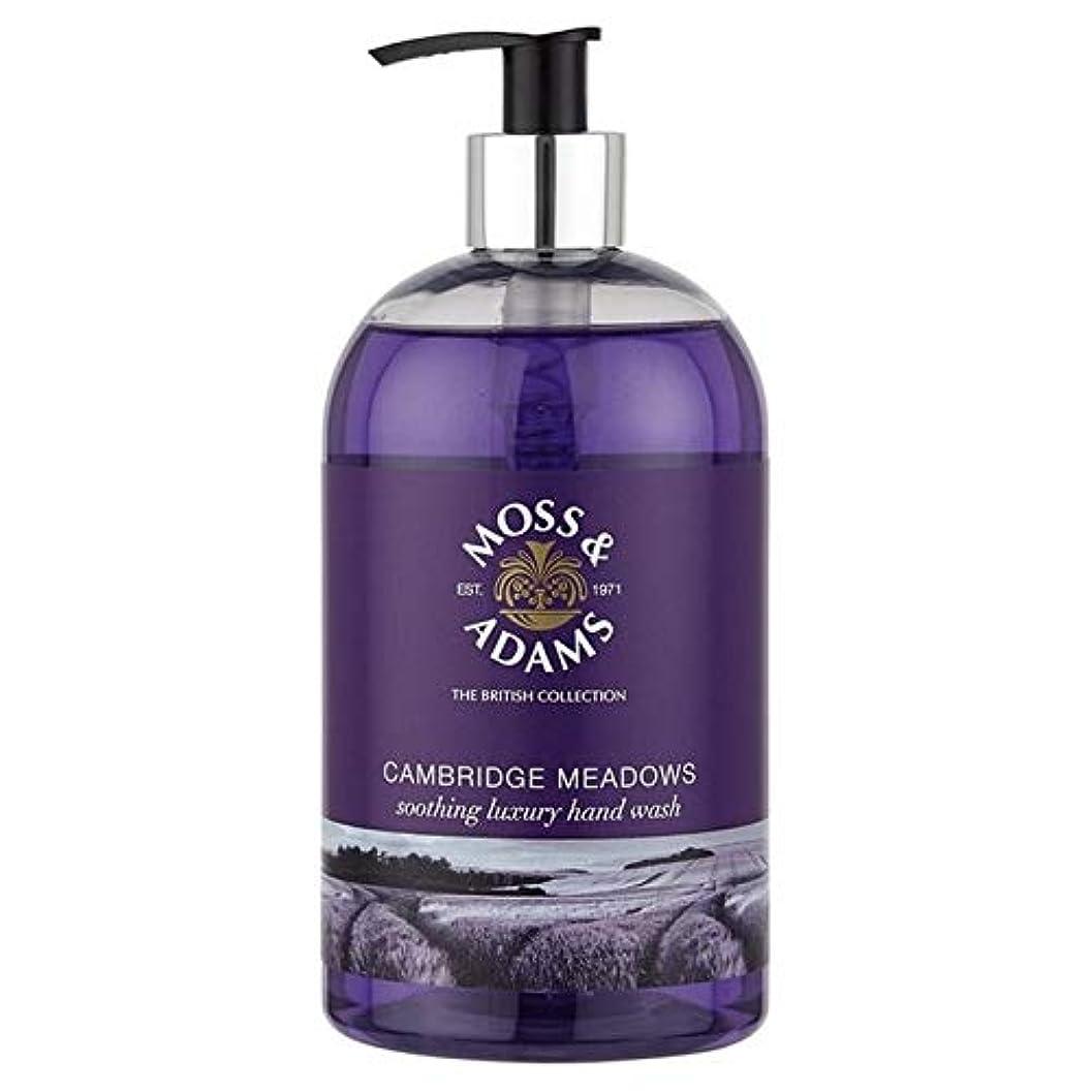 [Moss & Adams ] 苔&アダムスケンブリッジの牧草地のハンドウォッシュ500ミリリットル - Moss & Adams Cambridge Meadows Hand Wash 500ml [並行輸入品]
