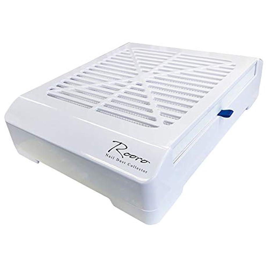 財布論争タブレットRooro(ローロ) Rooro ワイヤレスネイルダストコレクター RO-DCW W240×D185×H60mm