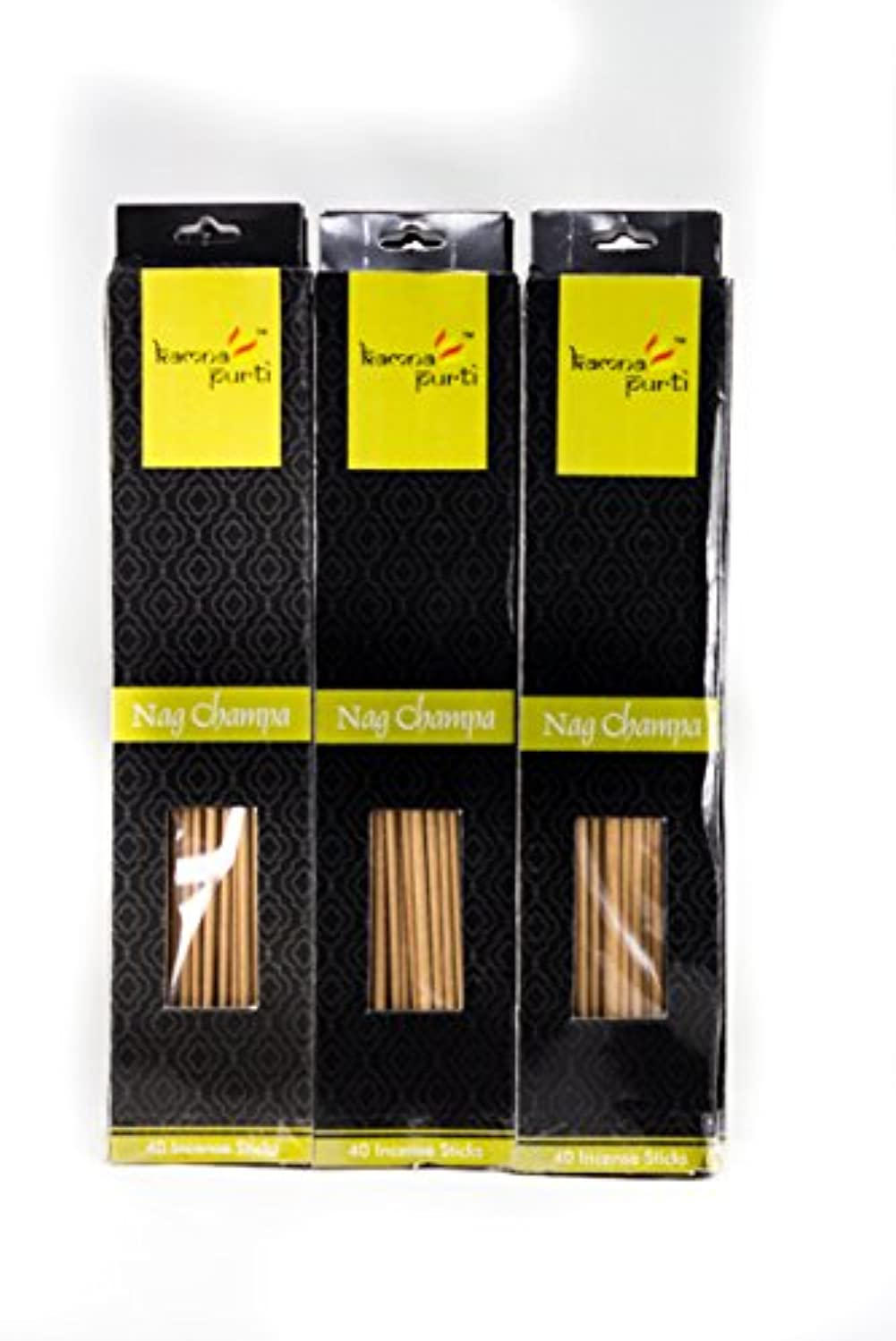 流暢仲介者家畜SBF Crafts 12セットIncense Sticks ( 40 Sticks /各) Nag Champa Highly Fragrance Incense Infused with Essential Oils...