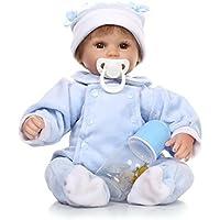 Herin Rebornベビー人形Lifelikeソフトビニール幼児新生児赤ちゃん人形クリエイティブクリスマス新しい年ギフトfor Children 16 in 42 cm