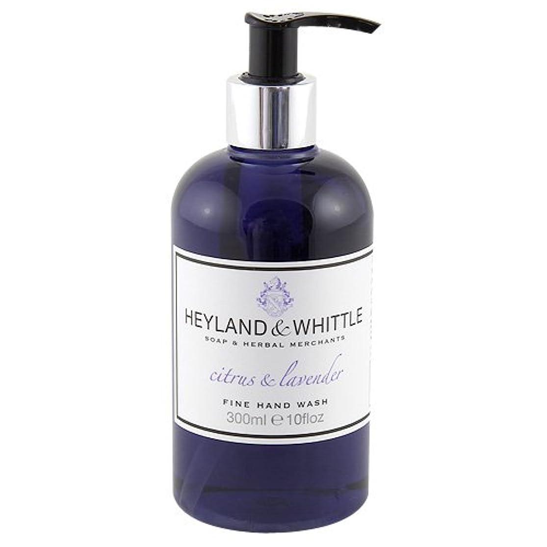 必需品決定恐ろしいですHeyland and Whittle Citrus and Lavender Handwash