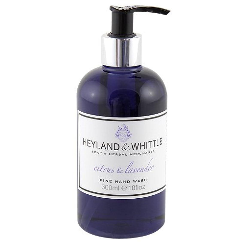 データ教養がある批判的Heyland and Whittle Citrus and Lavender Handwash