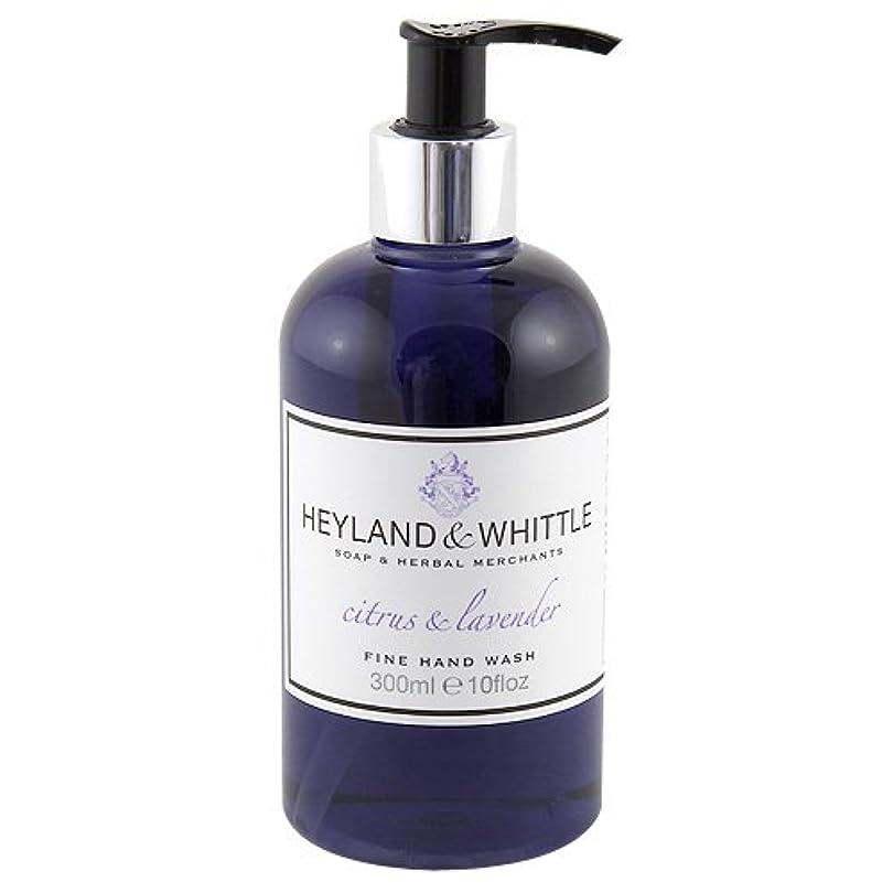 キャベツ値するラベHeyland and Whittle Citrus and Lavender Handwash