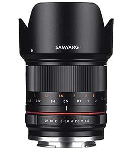 SAMYANG 広角単焦点レンズ 21mm F1.4 ED AS UMC CS ブラック キヤノン EOS M用 APS-C用 マニュアルフォーカス