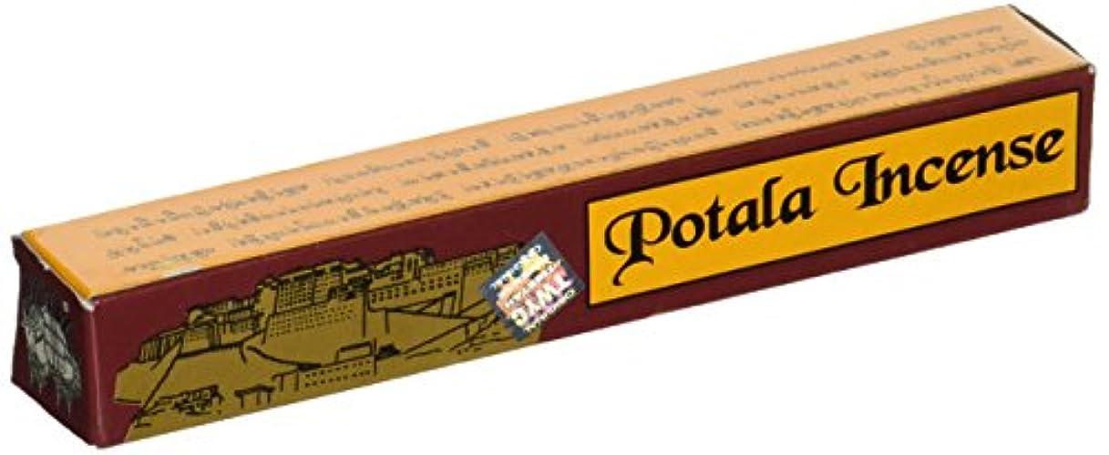 無効脅かす繊細1 x Potala Tibetan Incense Sticks