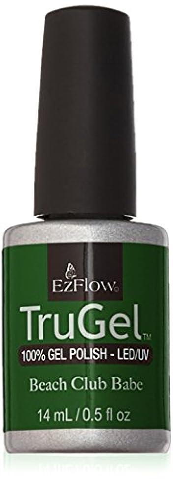 ルー息を切らして雑品EzFlow トゥルージェル カラージェル EZ-42456 アイドリームオブグリーニー 14ml
