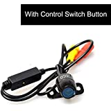 EKYLIN Auto Car CCD HD Universal Backup Camera with One Button Control: NTSC/PAL & Front View(Non-Mirrorred)/Reverse View(Mirrored) & Parking Lines/No Parking Lines Switch - Multi Modes Free Match