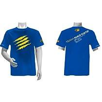 Team Mad Catz Tシャツ 青/黄 M (ときど着用デザイン) ※Team Mad Catz T-shirts 2012 青/黄 M 在庫有り