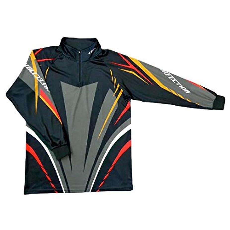 フリルグローテクニカルX'SELL(エクセル) ドライジップアップシャツ FP-5080