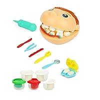子供のための医者キット、医師のツール歯科医の医療のふり遊びセット、医者のロールプレイのコスチュームドレスアップ女の子と男の子のための学校教室の教育玩具