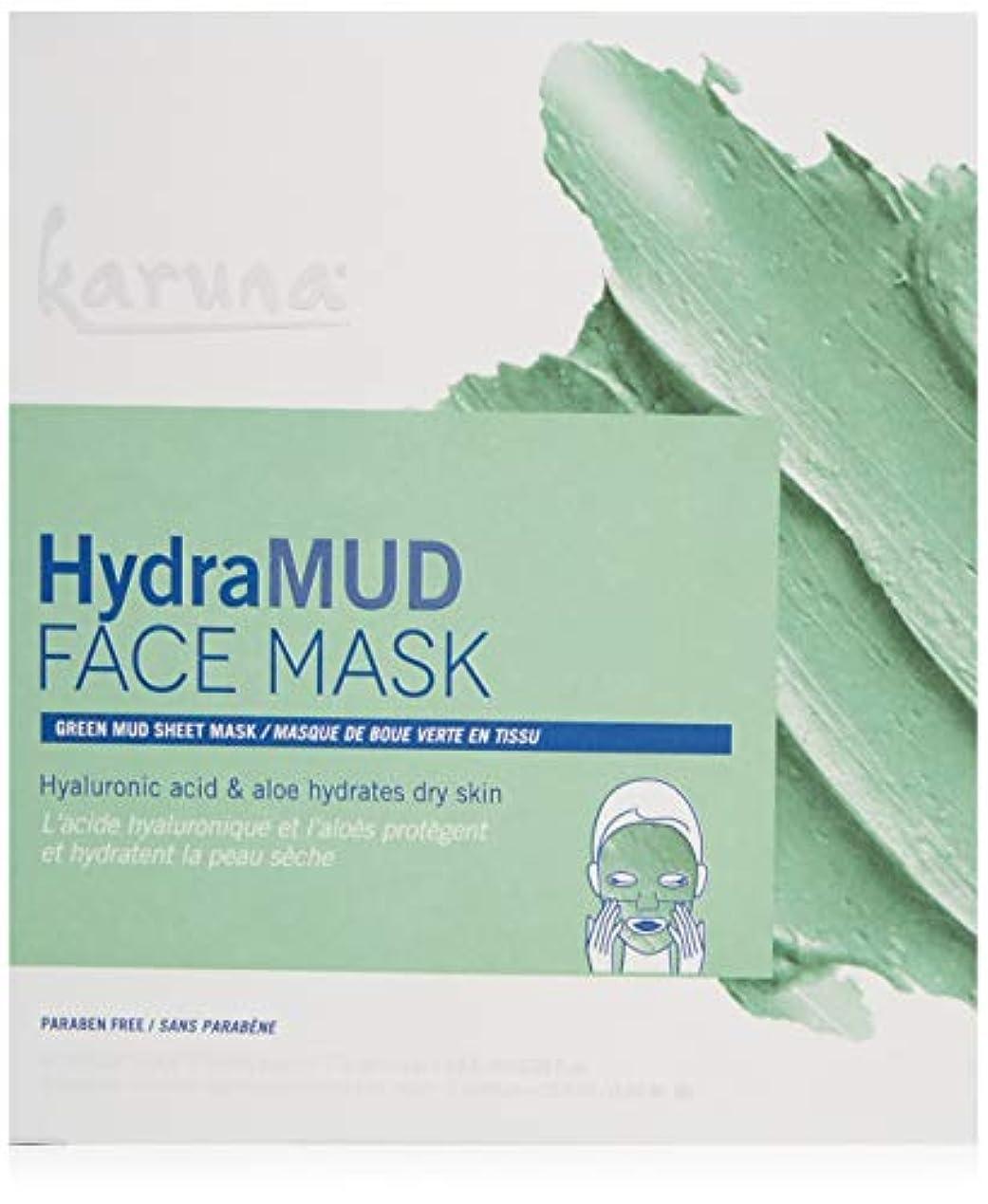 未亡人自治平方Karuna HydraMud Face Mask 4sheets並行輸入品