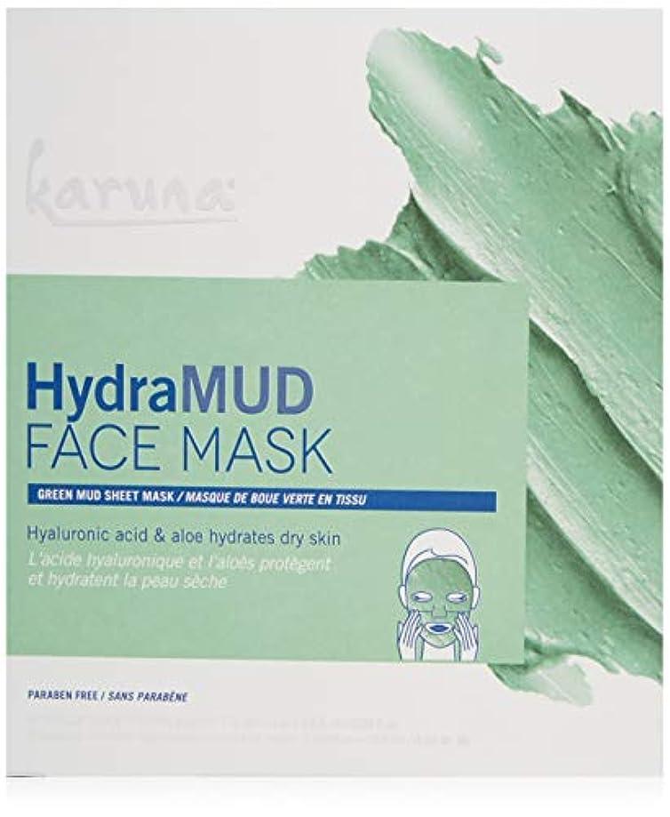 初期の正確にデコレーションKaruna HydraMud Face Mask 4sheets並行輸入品