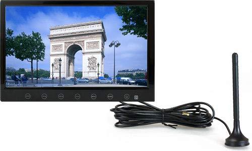9インチ フルセグ カーテレビ 車載テレビ HDMI スタンド付 「TV090B」