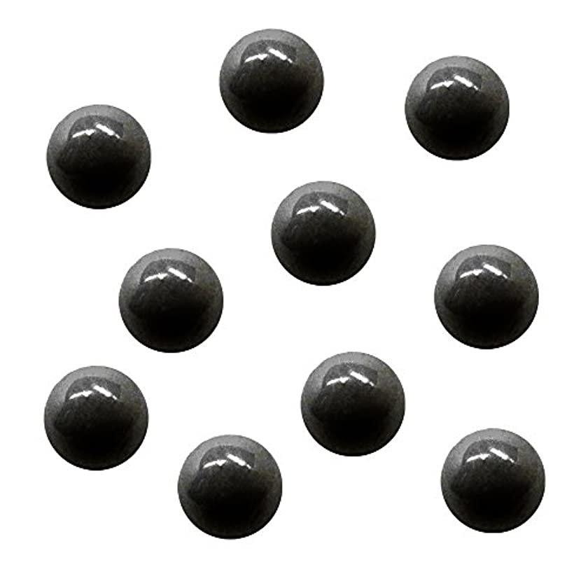 露出度の高い教義グリースサンシャインベビー ジェルネイル ジュエリーボール ブラック5mm 10P