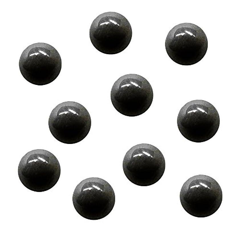 ボトルネックにぎやか取り替えるサンシャインベビー ジェルネイル ジュエリーボール ブラック5mm 10P