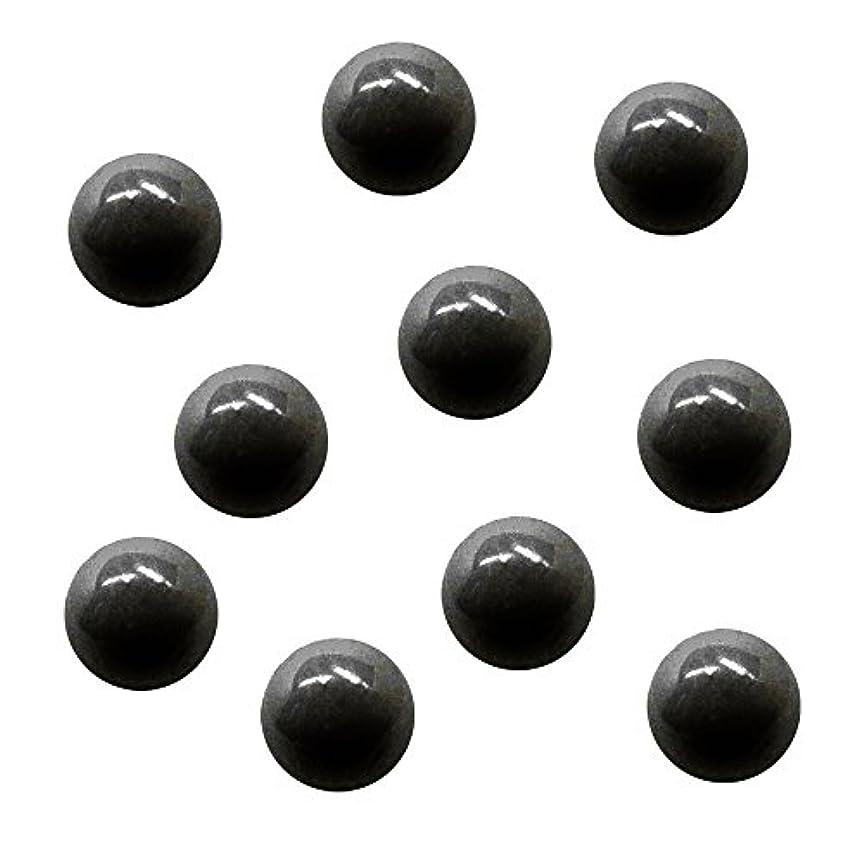 弓許容できる協会サンシャインベビー ジェルネイル ジュエリーボール ブラック5mm 10P
