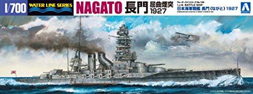 1/700 ウォータラインシリーズ No.124 日本海軍戦艦 長門 1927