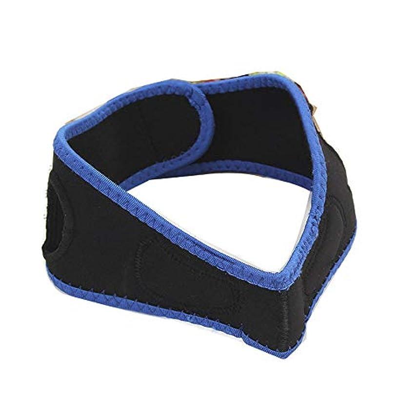筋解放するリングバック男性と女性の顔を持ち上げるベルト、睡眠薄い顔ベルト/リフティング引き締め顔の整形マスク/顔包帯/顔を持ち上げるアーティファクト