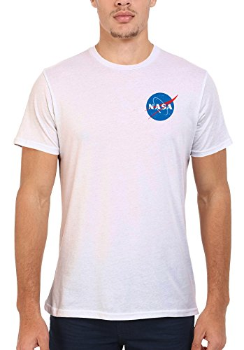 NASA Space Rocket Moon Space Astronaut Pocket Novelty Men Women Unisex Top T Shirt-L