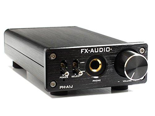 FX-AUDIO- PH-A1J『ブラック』ヘッドフォンアンプ MAX1200mW