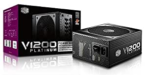 CoolerMaster 80PLUS PLUTINUM認証 1200W ATX電源ユニット V1200 Platinum (型番:RSC00-AFBAG1-JP)