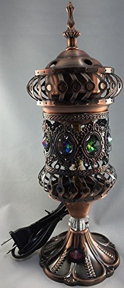 解明ステートメント未満Intricate carousel Electric Mabkhara Large L ブラウン