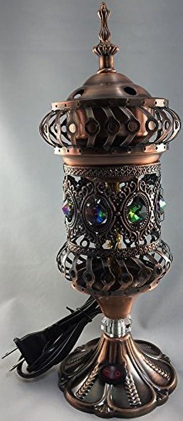 平行習慣ワイヤーIntricate carousel Electric Mabkhara Large L ブラウン