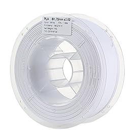材質:PLA樹脂 重量:1Kg/roll 有効温度: 180 - 210度
