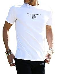 JIGGYS SHOP ロゴ Tシャツ メンズ 半袖 Vネック クルーネック スリムフィット 20柄 ボックスロゴ サーフ系