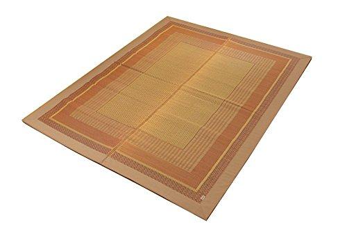 イケヒコ い草ラグ 裏貼り付 DXランクス 176*230cm ベージュ(1枚)