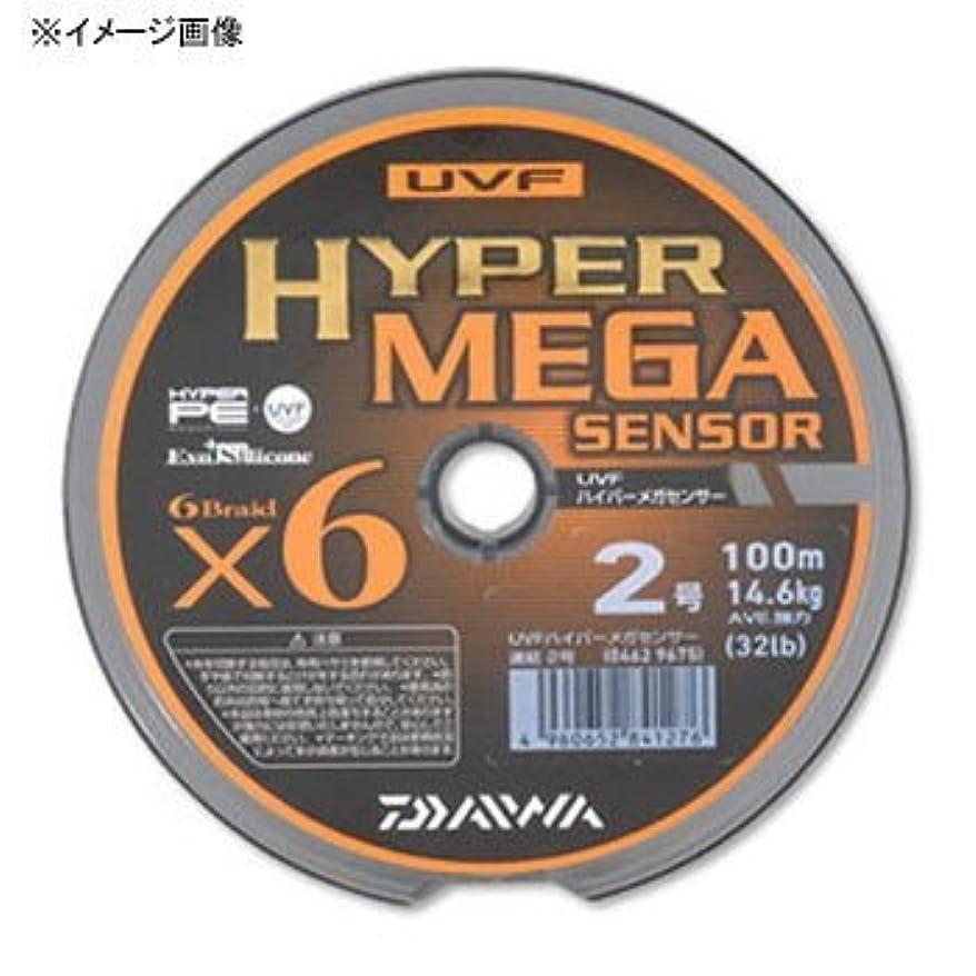 運動無効にする生き返らせるダイワ(Daiwa) PEライン UVF ハイパーメガセンサー 100m 1.5号 マルチカラー