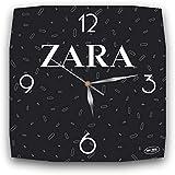 Zara 11'' 壁時計(ザラ)あなたの友人のための最高の贈り物。あなたの家のためのオリジナルデザイン