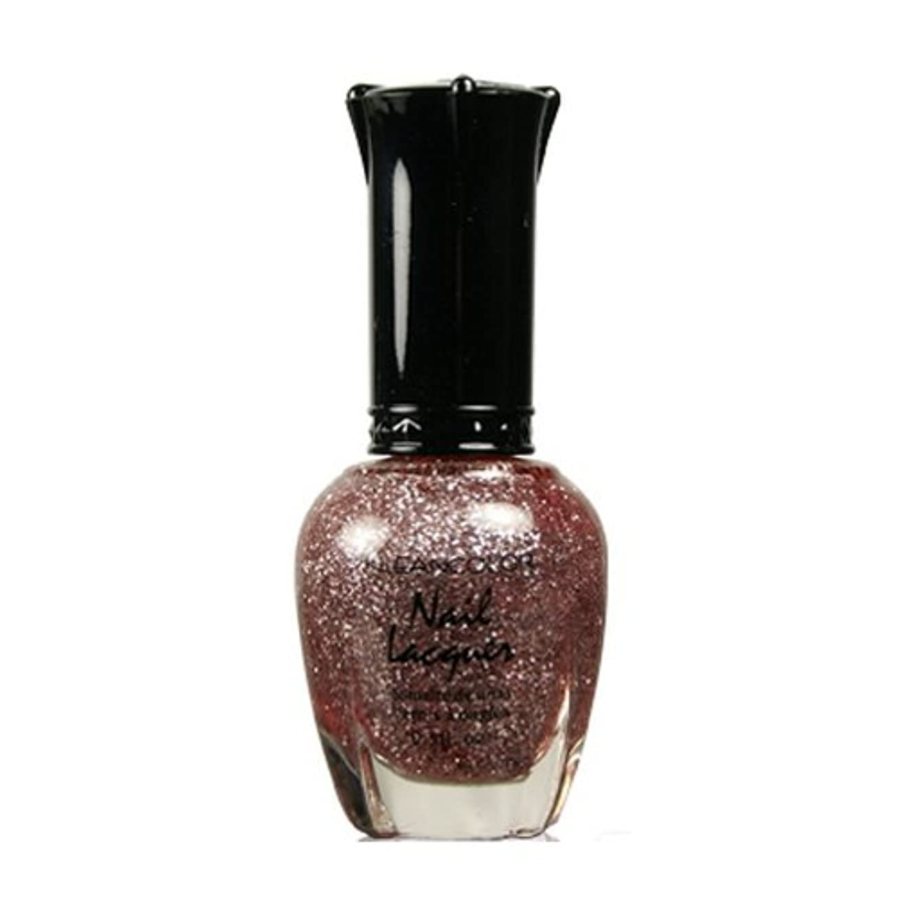 ストレス東橋脚(6 Pack) KLEANCOLOR Nail Lacquer 3 - Diamond Pink (並行輸入品)